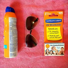 Sunscreen + Shades + #SunburnAlert = Sun Protection! Beach Bag Essentials, Exercise For Kids, Sun Protection, Sunscreen, Cancer, Shades, Sunglasses, Eye Shadow, Draping