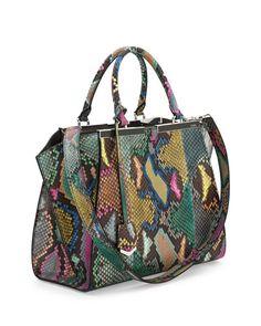 FENDI 2015 / Python Tote Bag