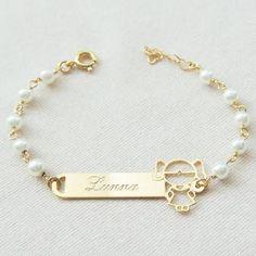 Baby Jewelry, Kids Jewelry, Dainty Jewelry, Photo Jewelry, Gold Jewelry, Jewelry Bracelets, Fashion Jewelry, Baby Bracelet, Pearl Bracelet