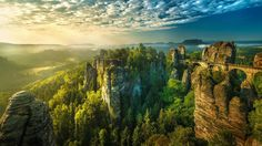Saxon Switzerland in Germany wallpapers and images - wallpapers ...