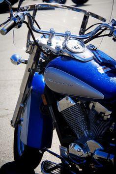 Bike in summer #blue #bike #summer #photography