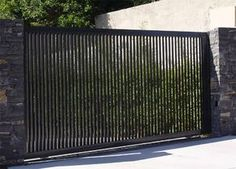 Garden and Outdoor 54 The Best Gate Design Ideas That You Can Copy Right Now In Your Home Understand Front Gate Design, Main Gate Design, House Gate Design, Door Gate Design, Fence Design, Front Gates, Entrance Gates, Front Fence, Iron Gates Driveway