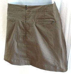 NIKE Golf FIT DRY Skort Fitness Athletic Skirt Shorts with Pockets Size 10  M #NikeGolf #SkirtsSkortsDresses