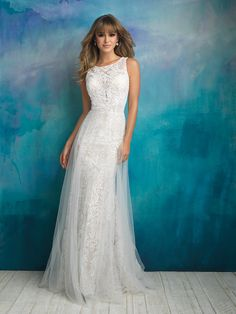 COMING SOON! Allure Bridals 9507L Nude/Ivory Size 16