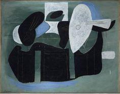 'Instrumentos de música sobre una mesa', Picasso (1924) (Museo Reina Sofía)