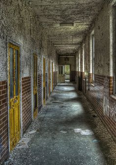 This is an abandoned mental asylum, which is mainly what the setting was in One Flew Over the Cuckoo's Nest
