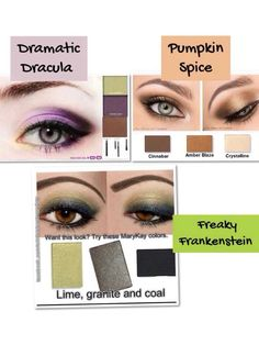 Mary Kay is ready for Halloween....check out these beautiful new looks http://www.marykay.com/melanielathum