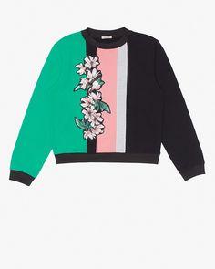 Emma Cook Magnolia Stripe Sweatshirt | LuckyShops