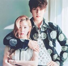 """""""Fate must have thought that we're meant for each other. Exo Red Velvet, Fanfiction, First Love, Wattpad, Kpop, Couples, Movie Posters, Sehun, Ships"""