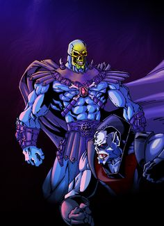 Skeletor Versus Hordak by ~ThulsaDoom on deviantART