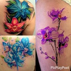Image result for orchid watercolor