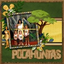 Disney Scrapbooking forum - get ideas by seeing what others have done! Search the Gallery or browse the categorized forums. Pocahontas Pictures, Disney Pocahontas, Disney Princesses, Disney Characters, Disney Scrapbook Pages, Scrapbook Page Layouts, Scrapbook Albums, Scrapbooking Ideas, Disney Trips