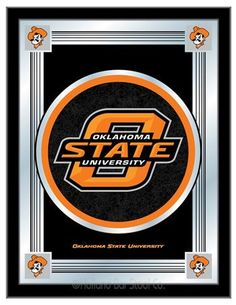 Oklahoma State University Logo Mirror