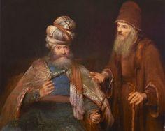 Aert de Gelder (1645-1727), Nathan Admonishes King David Dutch Golden Age, King David, Peter Paul Rubens, Dutch Painters, Rembrandt, New Kids, Headgear, Art Google