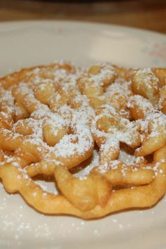 Classic Funnel Cakes Dessert Recipe! There's something that's just amazing about a good old funnel cake :)