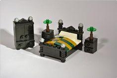 Bedroom furniture | ReBrick | From LEGO Fan To LEGO Fan