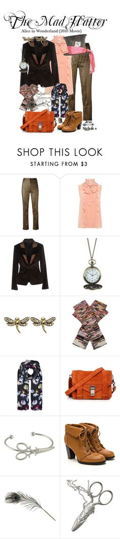 """""""The Mad Hatter"""" by jess-nichole ❤ liked on Polyvore featuring Sonia Rykiel, Dolce&Gabbana, Disney, Annoushka, Missoni, Lily and Lionel, Proenza Schouler and HAY"""