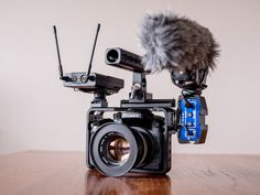 Minimal GH4 setup using passive attenuator