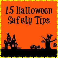 15 Halloween Safety Tips - Sincerely, Mindy