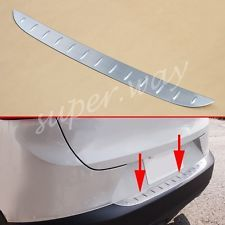 Rear Bumper Protector For Mazda CX3 2016 2017 Steel Trunk Sill Plate
