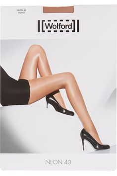 Wolford - Neon 40 Denier Tights - Sand - x large