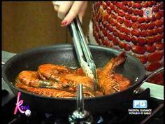 Recipe: Helen Gamboa's Prawn Pasta - YouTube