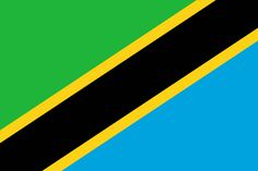 This is the national flag of Tanzania, a country located in East Africa. Want to learn more? Check out these Tanzania maps. Africa Flag, East Africa, Countries And Flags, Countries Of The World, African Great Lakes, Tanzania Safari, Tanzania Food, Great Lakes Region, Viajes