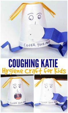 Teaching children Personal Hygiene and Healthy Habits lessons? Here is some Pers… Teaching children Personal Hygiene and Healthy Habits lessons? Here is some Personal Hygiene and Healthy Habits Craft and lessons to help children live more healthily. Healthy Crafts For Preschool, Body Preschool, Preschool Lessons, Lessons For Kids, Preschool Activities, Hygiene Lessons, Health Lessons, Health Tips, Healthy Habits For Kids