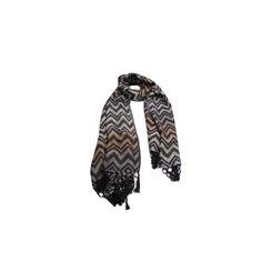 Pashmina Zig Zag Preta de Viscose #pashmina #pashimina #modafeminina #fashion #scarf #scarfs