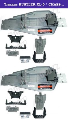 Traxxas RUSTLER XL-5 * CHASSIS PLATE SHOCK TOWERS BUMPER & SKID PLATES * bandit. Traxxas 1/10 Rustler XL-5 (Model 37054)Chassis, Shock Towers, Bumper & Skid PlatesMSRP: $52.99Local Hobby Shop: $48.3Dollar Hobbyz: Up to 95% Off MSRP! More Truck For Your Buck Since 2002!This Product Includes:Chassis (Part # 3722A)Speed Control Mounting Plate (Part # 3725)Battery Hold Down Plate and Metal Posts (Part # 3727A)Two (2) Body Clips (Part # 1834 Partial)Front Shock Tower (Part # 3639)Front Bumper...