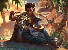 Vizier of Tumbling Sands, Josu Hernaiz on ArtStation at https://www.artstation.com/artwork/W06AG