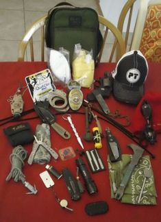 """Survival: S. KITS Social Chaos and Response Emergency Kits Your Scare Kit is to help you escape or survive """"People"""" and the chaotic events i. Urban Survival, Homestead Survival, Survival Tools, Wilderness Survival, Camping Survival, Outdoor Survival, Survival Prepping, Survival Stuff, Survival Bags"""