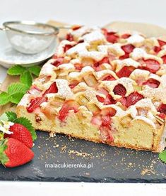 Polish Desserts, Mini Desserts, Oreo Desserts, Polish Food, Cake Recipes, Dessert Recipes, Vegan Junk Food, Vegan Sushi, Vegan Smoothies