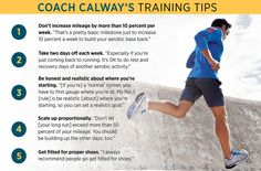 Coach Calway's Training Tips Running Tips Beginner, Its Ok, Aerobics, Training Tips, Comebacks, You Got This