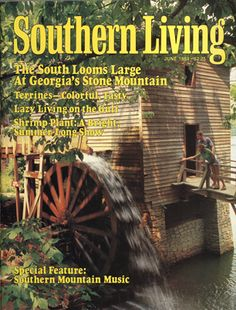The South Looms Large at Georgia's Stone Mountain Southern Charm, Southern Living, Great Places, Places To Go, Mountain Music, Country Magazine, Good Times Roll, Stone Mountain, Down South