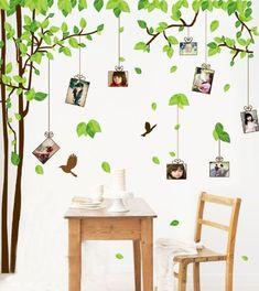 Wandtattoo Baum und Bilder