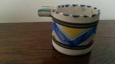 Rare Collard Honiton Pottery miniature ashtray art deco design