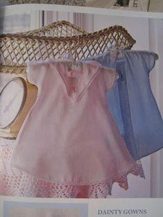 Dainty Preemie Gowns ePattern - FREE