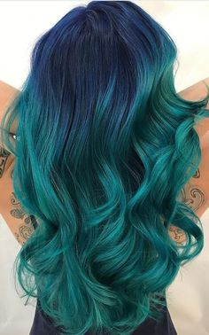 Gorgeous collection of best blue hair colors ideas for 2017-2018.