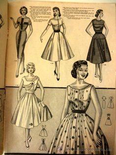 f26de19dc fantastica revista de moda de años 50   mode fa - Comprar Otras revistas y  periódicos