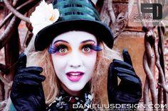 Mad Hatter Inspiration    Valerie M Davis (Makeup Artist)  Danielius Design (Photographer)
