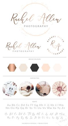 Heart Circle Logo Design, Custom Logo Design, Rose gold Branding kit Logo Design Premade Branding Package, stamp, Photography Logo, watermark  Pre made branding kits are the perfect solution to polish your brand professionally, at a super affordable price! The are perfect for photographers, interior designs, event & wedding planners, small business and boutiques, makeup artists, bloggers and more.