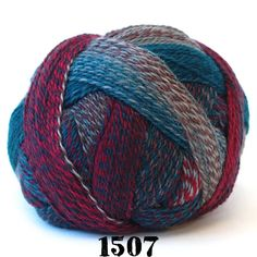 "Zauberball Crazy from Schoppel Wolle yarn Content: 75% Superwash Wool, 25% Nylon Yarn Category: Fingering Weight/Yardage: 459 yds/ 100 g Gauge: 7.5 sts = 1"" on US 0-2 Care: Machine washable Schoppel W"