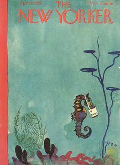 E. B. White's New Yorker Cover