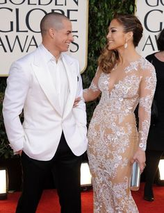 When They Wear White - Proof that JLo and Casper Smart are Hollywood's Cutest Couple - Photos