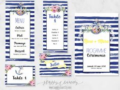 faire-part-mariage-marin-nautique-rayures-bleu-raye-fleurs-peinture-aquarelle-peinture-happy-chantilly-2