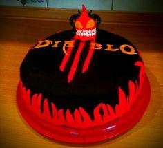Birthday cake Diablo 3