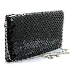 Plic Sophie All Black, Zip Around Wallet, Chain, Necklaces, Black