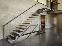 Blog Archive » Escadas Suspensas parecem desafiar as leis da física ...  #stairs Pinned by www.modlar.com