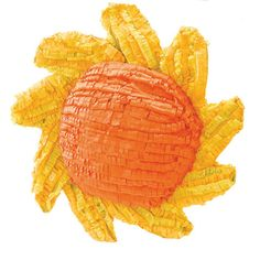 "Sun 20"" Pinata Includes pinata. Weight (lbs) 0.6 Length (inches) 20.5 Width (inches) 19 Height(inches) 4.5"